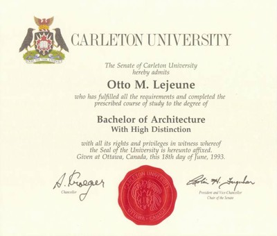 BArch Degree