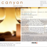 The canyon website